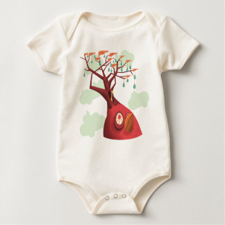 Fruit Tree Baby Baby Bodysuit