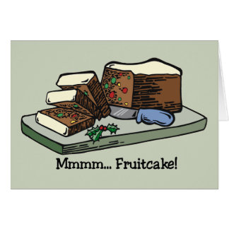 Fruitcake card