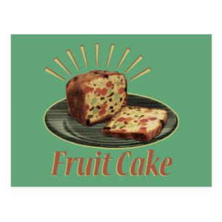 Fruitcake Fruit Cake Postcard