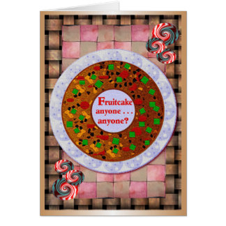 Fruitcake Holiday Cards