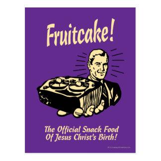 Fruitcake! The Snack Food of Jesus' Birth Postcard