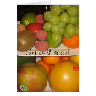 Fruits Card