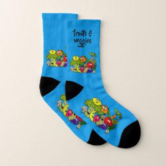 fruits & veggies - socks 1