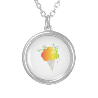 Fruity Tooty Round Pendant Necklace