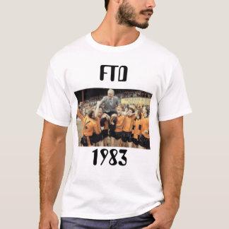 FTD 1983 Title winning T-shirt