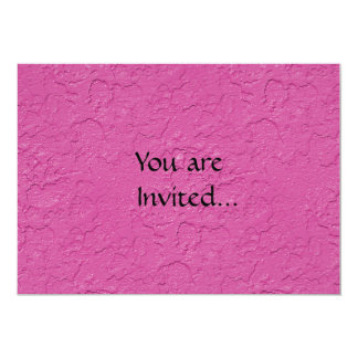 Fuchsia Pink Stucco Look Card