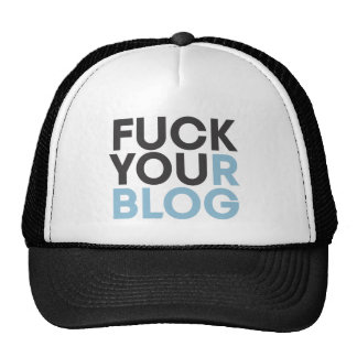 FuckYourBlog Mesh Hat