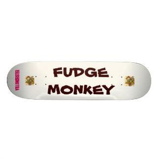fudge monkey deck 20.6 cm skateboard deck