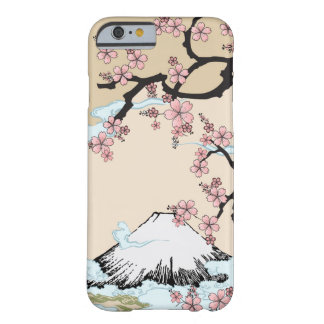 Fuji and Sakura - Japanese Design iPhone 6 case Barely There iPhone 6 Case