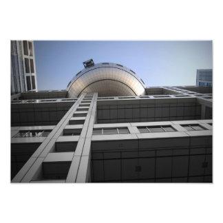 Fuji Building Art Photo
