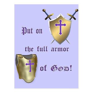 Full Armor of God Postcard