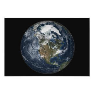 Full Earth showing North America 2 Art Photo