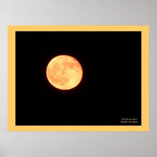Full Harvest Moon Poster