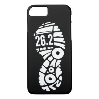 Full marathon 26.2 runner shoe phone case