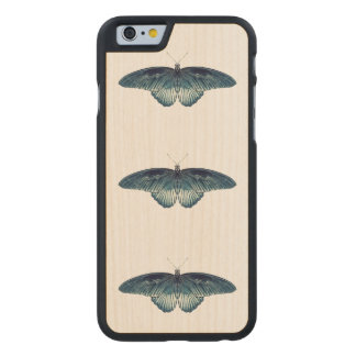 FULL METAL BUTTERFLY iPhone 5/5S Slim Wood Case