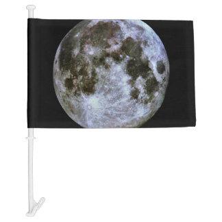 Full Moon Car Flag