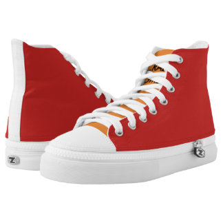 FULL SHOE-HIGH TOP PRINTED SHOES