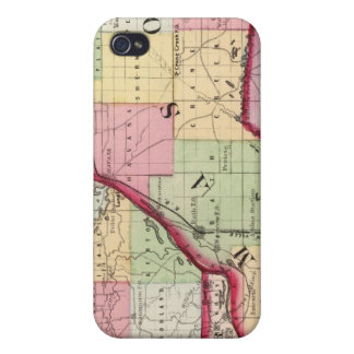 Fulton, Mason, Cass, Menard counties Cover For iPhone 4