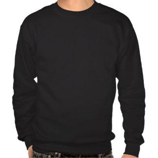"""Fumes of Fury"" Black Crew Neck Sweater Pull Over Sweatshirts"