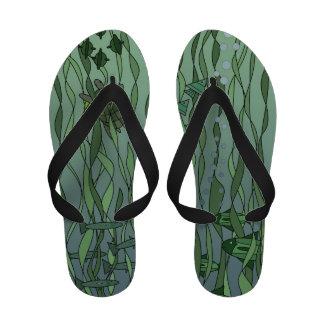 Fun Among the Seaweed Sandals
