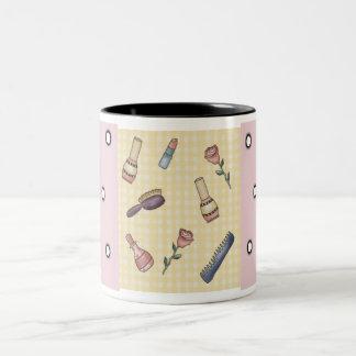Fun! Beauty Theme Custom Coffee Cup Mug