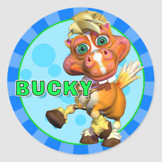 Fun Bucky Stickers