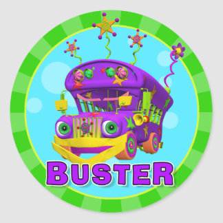 Fun Buster Stickers