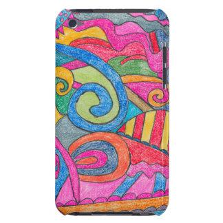Fun Colorful Design iPod Touch 4th Gen Case