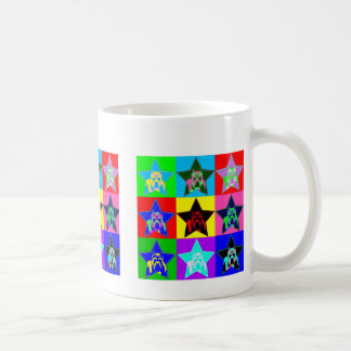 Fun & Colorful Pit Bull Coffee Cup - Trendy & Hip