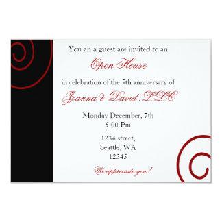 """Fun Corporate party Invitation 5"""" X 7"""" Invitation Card"""