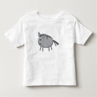 Fun Donkey on White Toddler T-Shirt