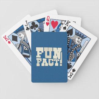 Fun Fact! Bicycle Playing Cards
