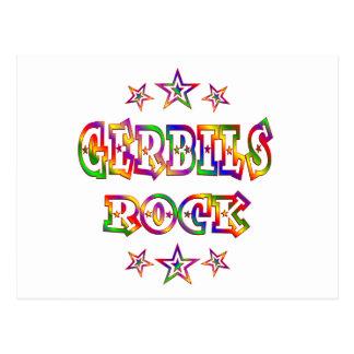 Fun Gerbils Rock Post Cards