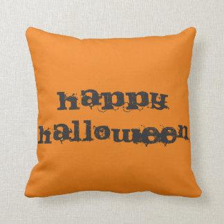 Fun Happy Halloween Trick or Treat Cushions