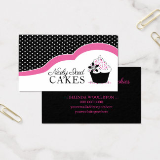 Fun Home Bakery Business Cards