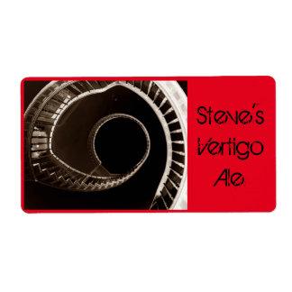 Fun Homebrewing Vertigo Beer Bottle Labels Ale Lag