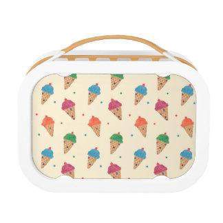 Fun Ice Cream Pattern Lunch Box