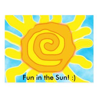 Fun in the Sun! :) Postcard