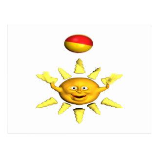 Fun In The Sun Postcard