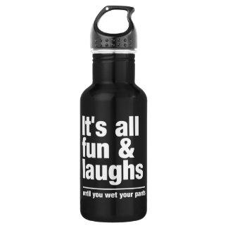 FUN & LAUGHS - choose color 532 Ml Water Bottle