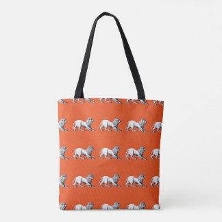 Fun Leo Tote Bags - Any color!