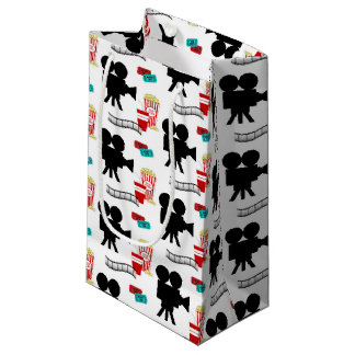 Fun Movie lovers tiled pattern party bag