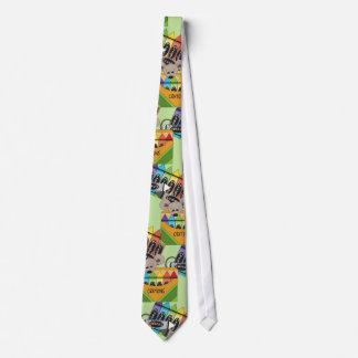 Fun Novelty School Silky Mens' Neck Tie