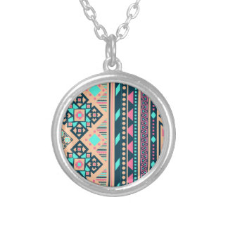 Fun Okay Soulful Effervescent Round Pendant Necklace