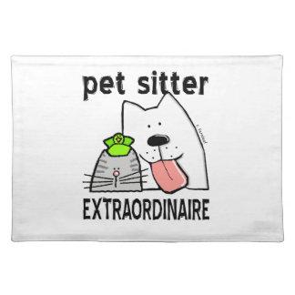 Fun Pet Sitter Extraordinaire Placemat