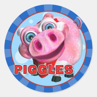 Fun Piggles Stickers