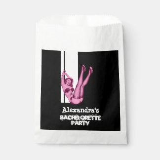 Fun pin up girl personalized bachelorette party favour bags