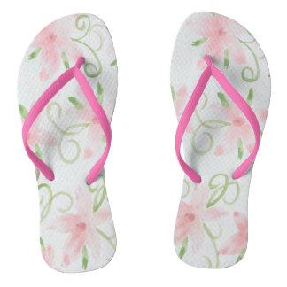 Fun Pink Flip Flops