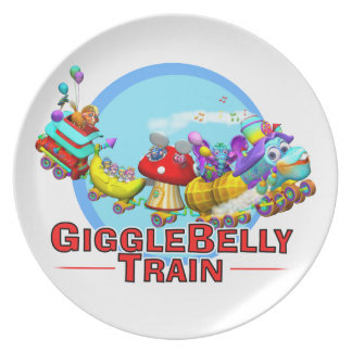 Fun Plate with The GiggleBelly Train