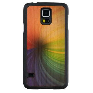 Fun Rainbow Art Carved Cherry Galaxy S5 Case